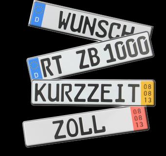 német rendszámok