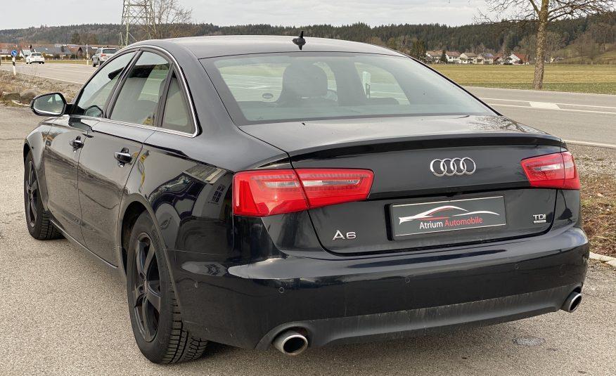 Audi A6 4G S-line hátulaj