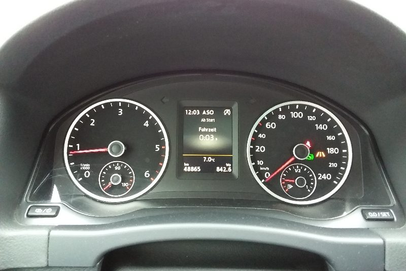 Volkswagen Tiguan R-Line-Paket kevés km