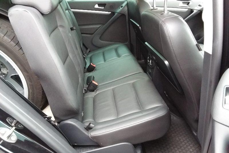 Volkswagen Tiguan R-Line-Paket bőr belső