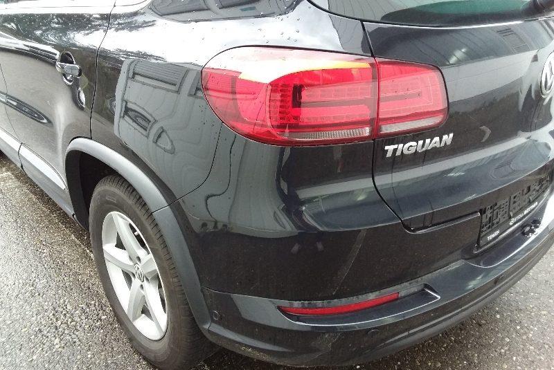 Volkswagen Tiguan R-Line-Paket hátsó lökhárító
