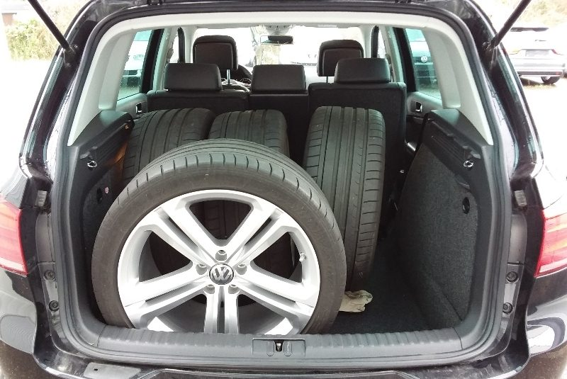Volkswagen Tiguan R-Line-Paket gyári felni