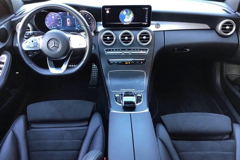 Mercedes-Benz C-Klasse C 180 CGI AMG Line belső