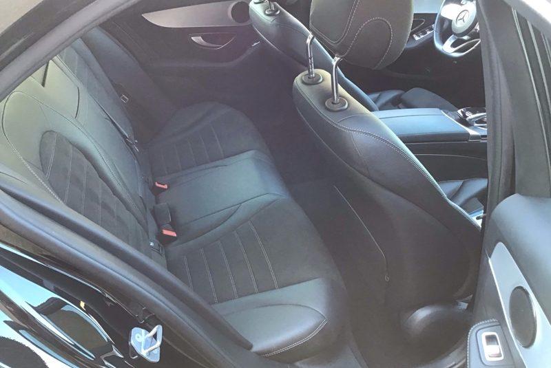Mercedes-Benz C-Klasse C 180 CGI AMG Line hátsó ülés